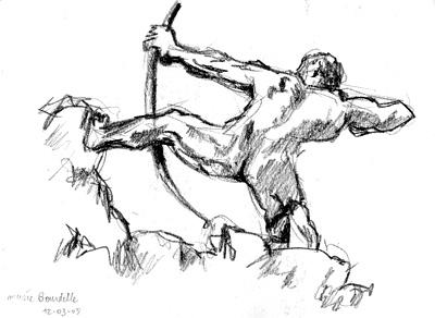 Heraclès archer d'Antoine Bourdelle, Musée Bourdelle