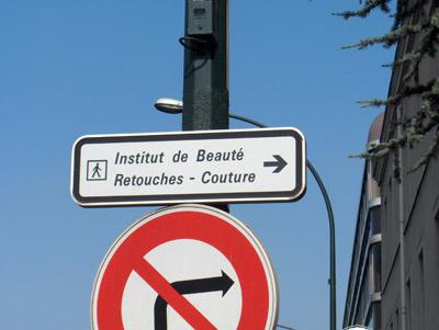 Institut de beauté retouches couture