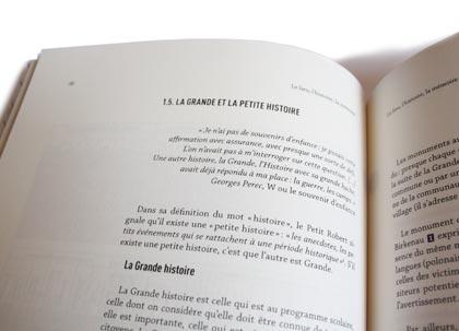 Double page. Détail.