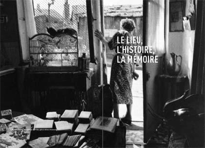 Ouverture de chapitre. Photo prise par Robert Doisneau dans la rue Vilin dans les années 1940.