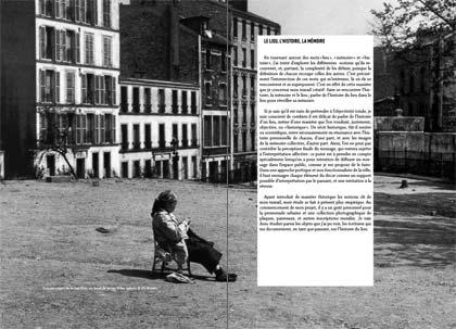 Conclusion du premier chapitre. Photo prise en haut de la rue Vilin par Willy Ronis dans les années 1950.
